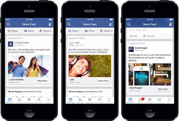 Anatomy of a Facebook Ads campaign